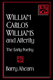 William Carlos Williams and Alterity
