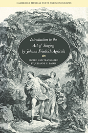 music education and the art of performance in the german baroque butt john