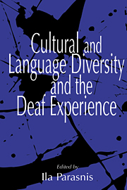 Cultural and Language Diversity and the Deaf Experience