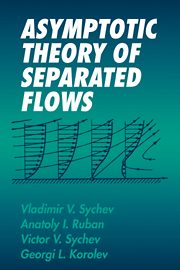 Asymptotic Theory of Separated Flows