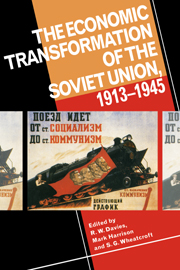The Economic Transformation of the Soviet Union, 1913–1945