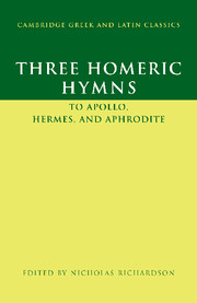 Three Homeric Hymns