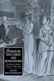 Literature, Education, and Romanticism