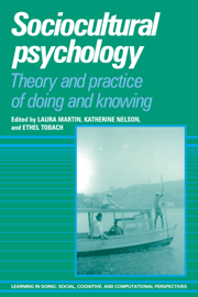Sociocultural Psychology