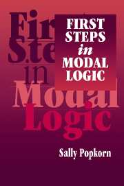 First Steps in Modal Logic