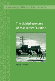 The Divided Economy of Mandatory Palestine