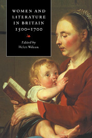Women and Literature in Britain, 1500–1700