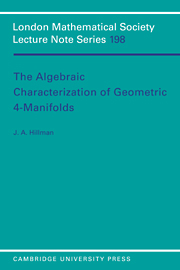 The Algebraic Characterization of Geometric 4-Manifolds