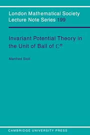 Invariant Potential Theory in the Unit Ball of Cn