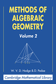 Methods of Algebraic Geometry