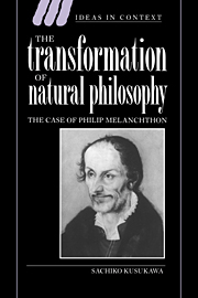 The Transformation of Natural Philosophy