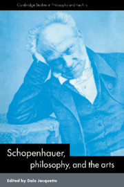Schopenhauer, Philosophy and the Arts