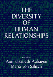 The Diversity of Human Relationships