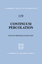 Continuum Percolation