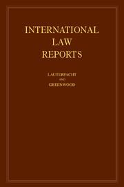 INTERNATIONAL LAW REPORTS EPUB DOWNLOAD