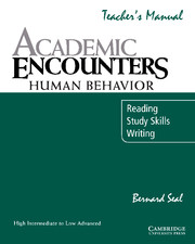 Academic Encounters: Human Behavior