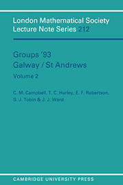 Groups '93 Galway/St Andrews