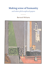 Moral Luck   Bernard Williams                 Amazon com