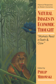 Natural Images in Economic Thought