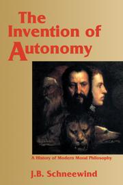 The Invention of Autonomy