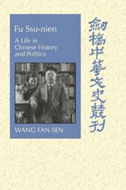 Fu Ssu-nien by Fan-sen Wang