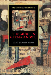 The Cambridge Companion to the Modern German Novel