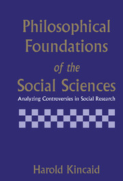 Philosophical Foundations of the Social Sciences