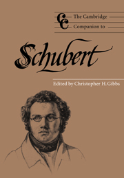 The Cambridge Companion to Schubert