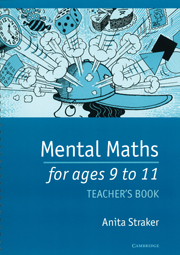 Mental Maths for Ages 9 to 11 Teacher's Book