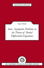 Some Asymptotic Problems in the Theory of Partial Differential Equations