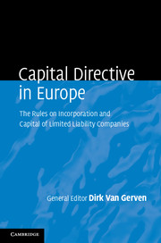 Capital Directive in Europe