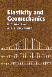 Elasticity and Geomechanics