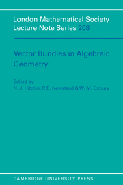Vector Bundles in Algebraic Geometry