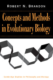 Concepts and Methods in Evolutionary Biology