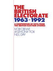 The British Electorate, 1963–1992