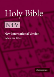 NIV373W Pocket Cross-Reference Edition