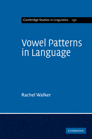 Vowel Patterns in Language