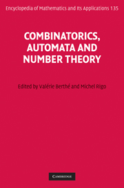 Combinatorics, Automata and Number Theory