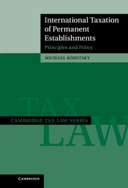 International Taxation of Permanent Establishments
