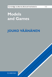 Models and Games
