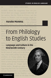 From Philology to English Studies