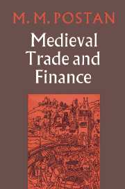 Mediaeval Trade and Finance