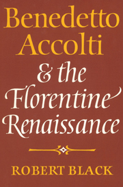 Benedetto Accolti and the Florentine Renaissance