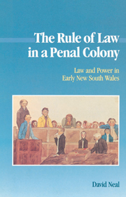 The Rule of Law in a Penal Colony