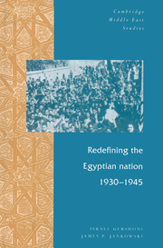 Redefining the Egyptian Nation, 1930–1945