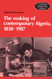 The Making of Contemporary Algeria, 1830–1987