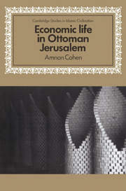 Economic Life in Ottoman Jerusalem