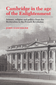 Cambridge in the Age of the Enlightenment
