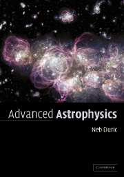 Advanced Astrophysics