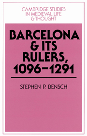 Barcelona and its Rulers, 1096–1291